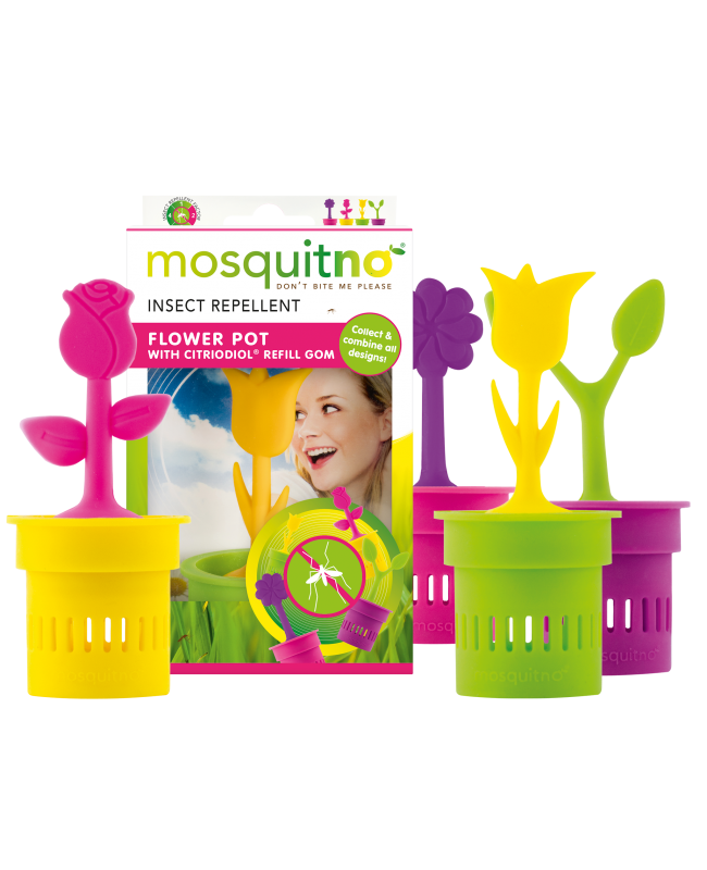 Insect Repellent Flower Pot